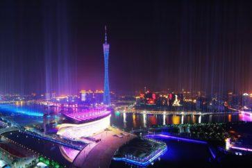 guangzhou-nigh-skyline