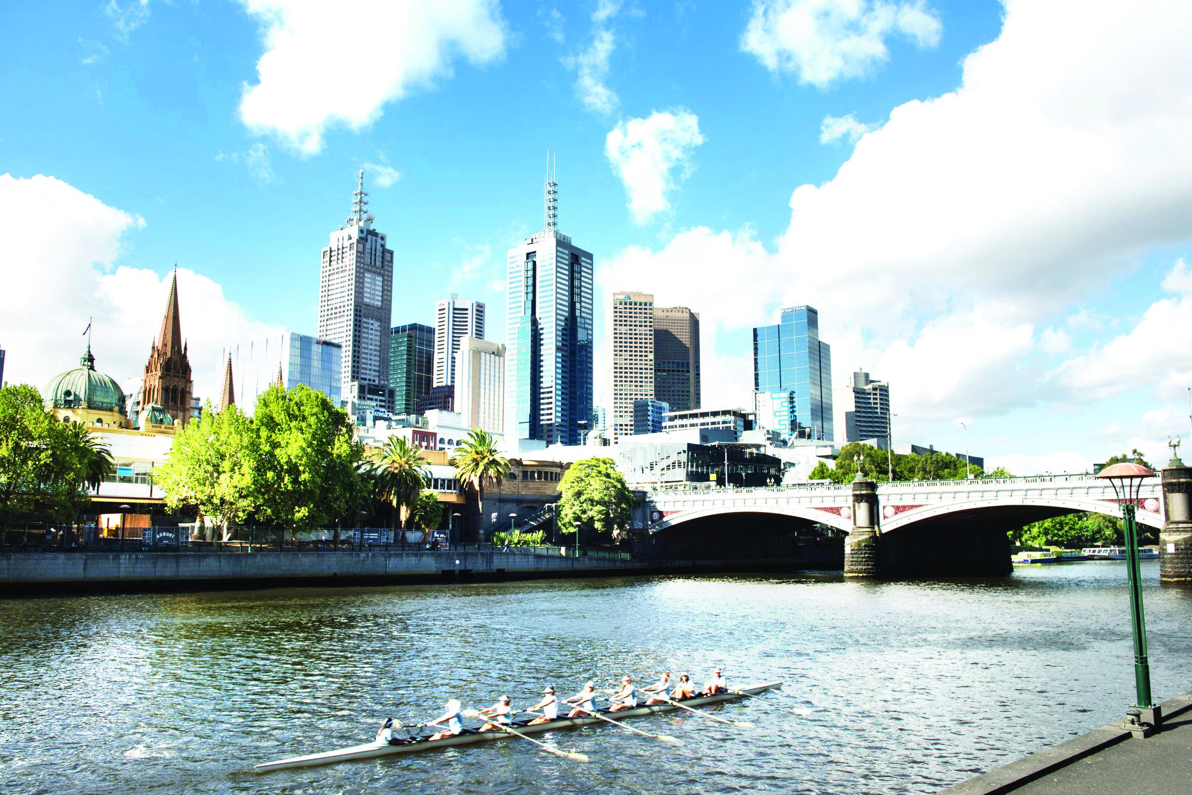 Yarra River , Melbourne