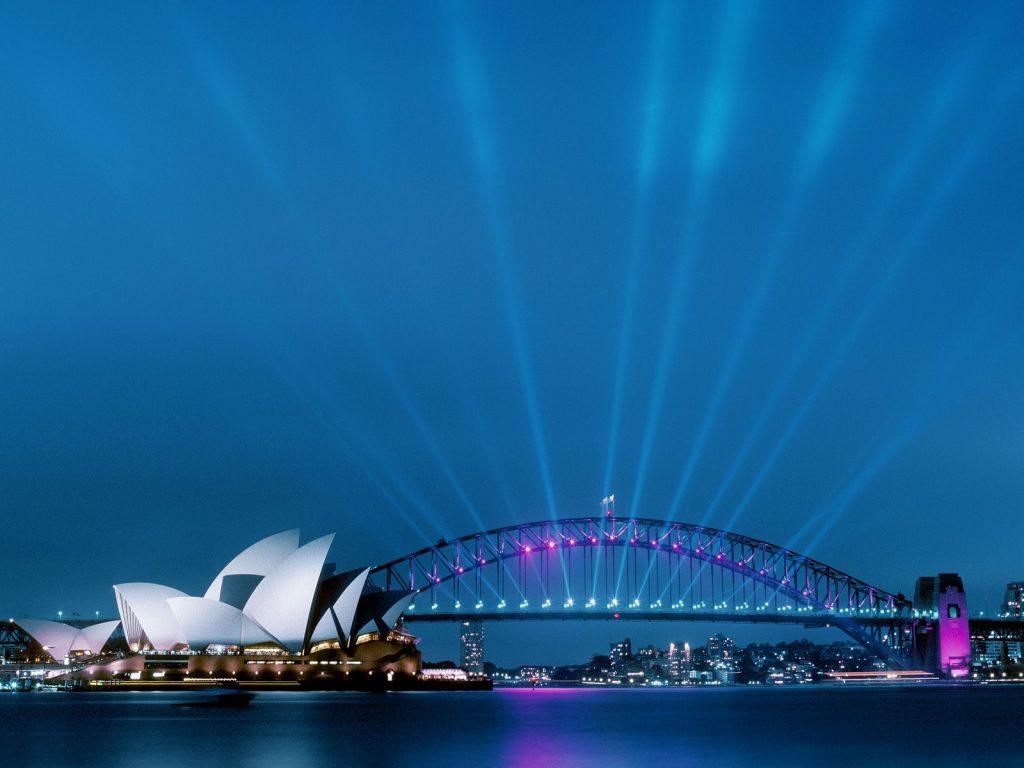 Opera House & Harbour Bridge, NSW , Australia
