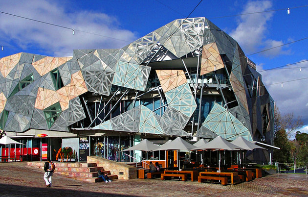 Federation Square, Flinders street, 3000 , Vic