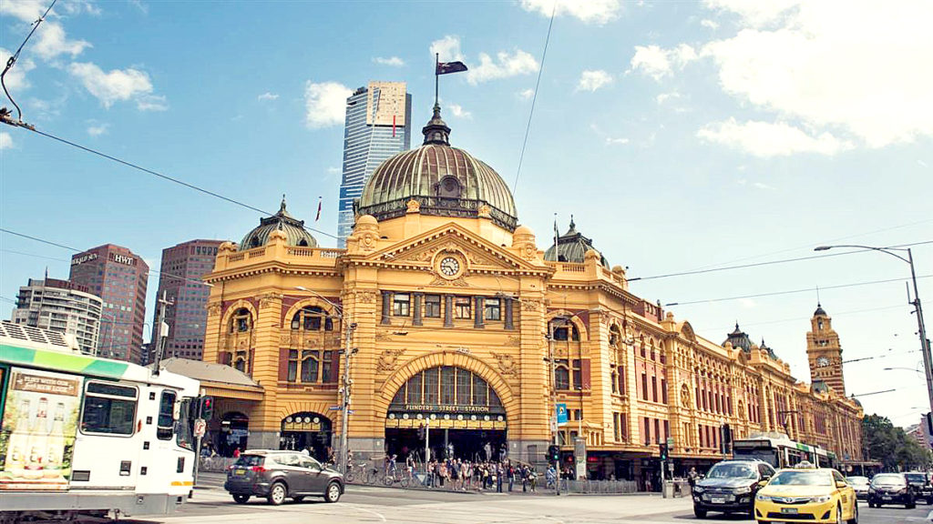 Flinders St Station, Mel, Victoria ,3000