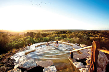Peninsula hot springs, Mornington, Victoria