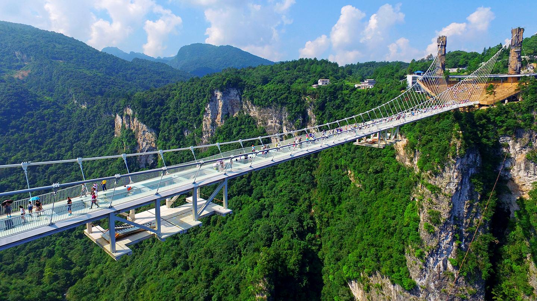 Grand Canyon Glass Bridge,Zhangjiajie