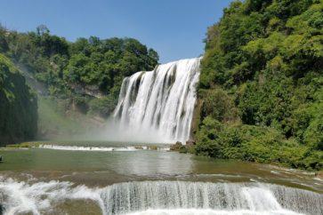 Landscape Flower Fruit Falls Falls Guizhou