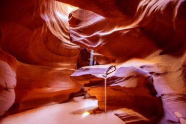 Antelope Canyon Arizona on Navajo land near Page